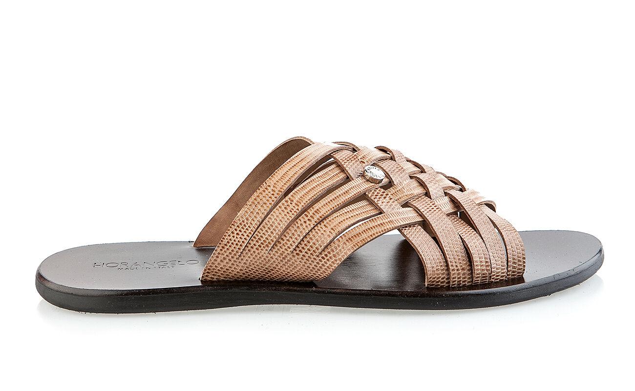 Fiorangelo Leather Sandals Italian New Sizes 6,7,8,9,10,11