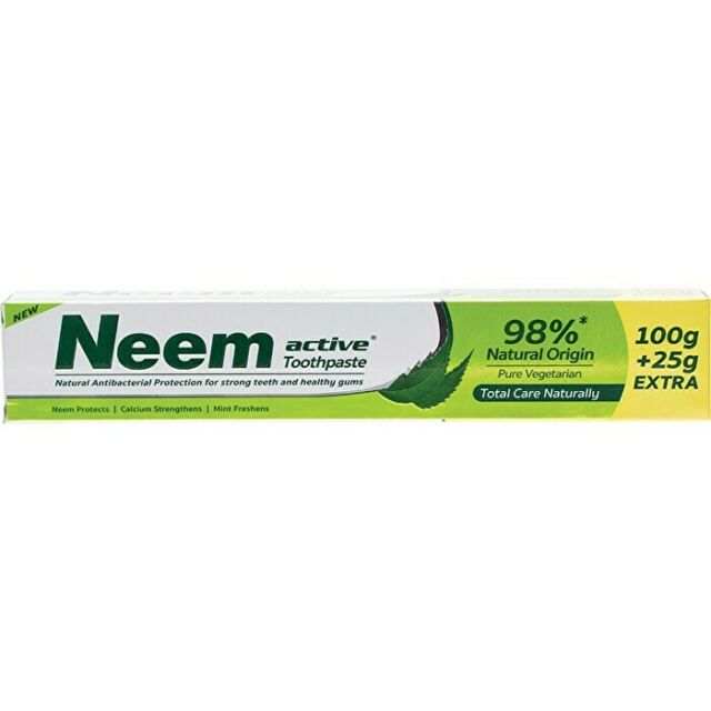 Neem Active Toothpaste Neem 125g Dental Care