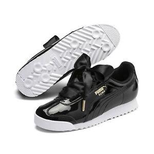 PUMA Women's Roma Heart Patent Sneakers