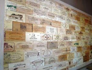 25 Assorted Rare Branded Wood Wine Panels Diff Sizes Huge Ebay Store Ebay