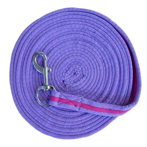Softlonge ca Longe longieren 8 Meter in verschiedenen Farben mit Handschlaufe