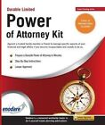 Durable Limited Power of Attorney Kit by Enodare (Paperback / softback, 2014)