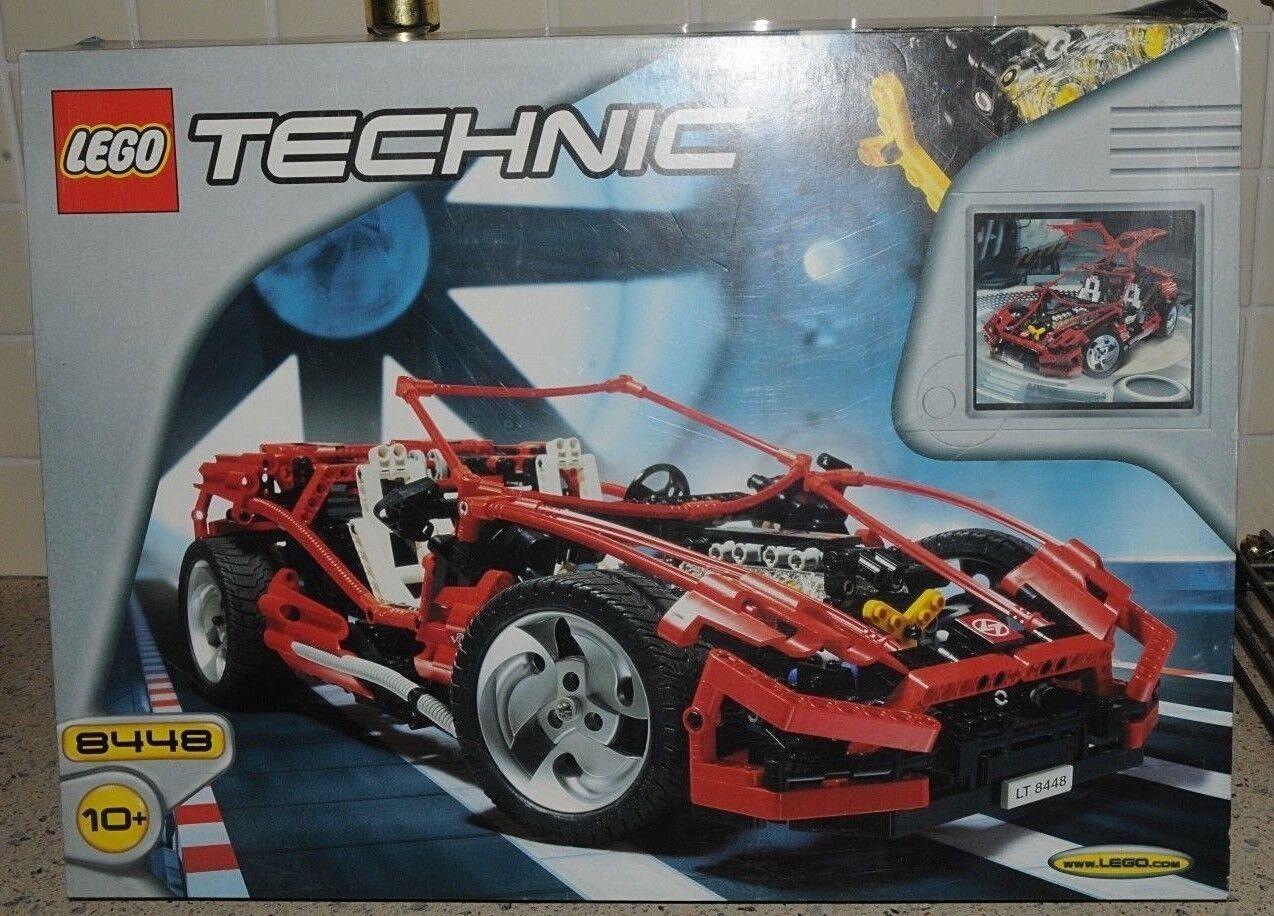 RARO LEGO TECHNIC set 8448 SUPER STREET SENSATION-con scatola & Istruzioni