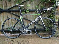 Felt Bicycles B16 TT/Triathlon Bike 58 - Upgraded 3T Ultegra