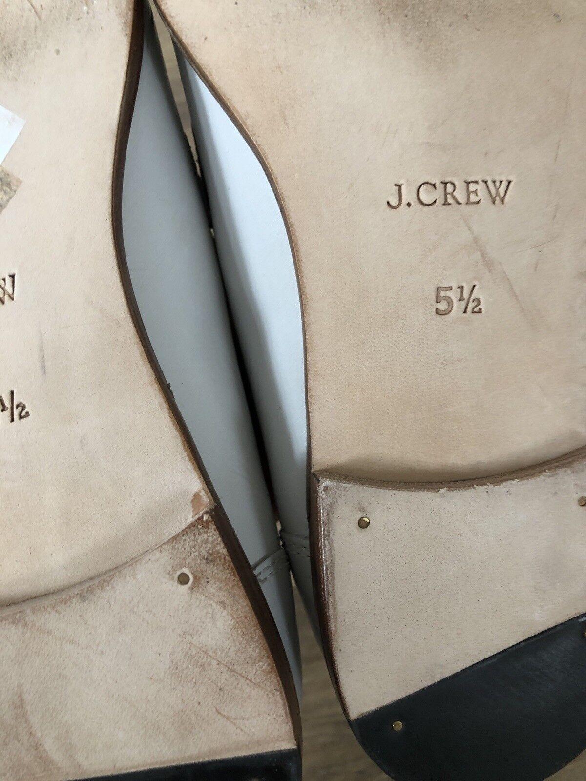 Nuevos Mocasines de J. J. J. Crew Ryan Penny 5 Cuero blancooo H8228 42d7ad