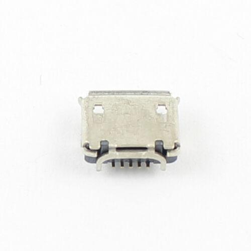 10Pcs Micro USB Type B Female 5 Pin DIP Ejector Socket Connector