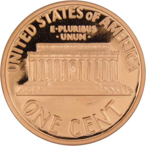 1991 S 1c Lincoln Memorial Cent Penny US Coin Choice Proof