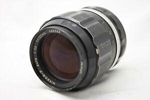 Nikon-Nikkor-P-Auto-1-2-5-105mm-Lens-As-Is-C018a