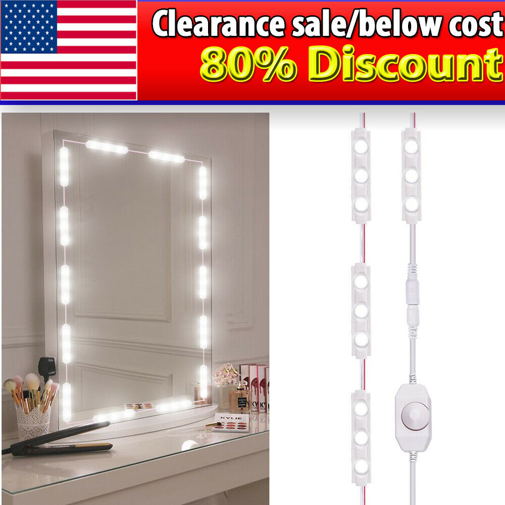 Alta LED Bathroom Mirror illuminated mirror with steep Facet 60x80cm with 2 Lamps