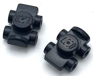 LEGO New Lot of 4 Black Minifigure Whip Tool Accessories