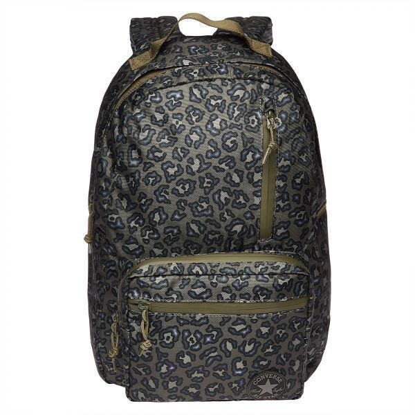 e2e60285119f Converse Poly Go School Kids 21 L Backpack Medium Olive camo W  Laptop  Sleeve