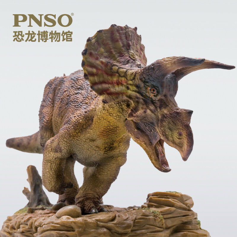 Nuovo PNSO Dolly Triceratops Dinosaurs Model scientific precise realistic Figure