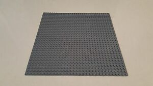 Base-Plate-Grey-Building-Board-LEGO-Compatible-Baseplate-32x32-Studs-Size