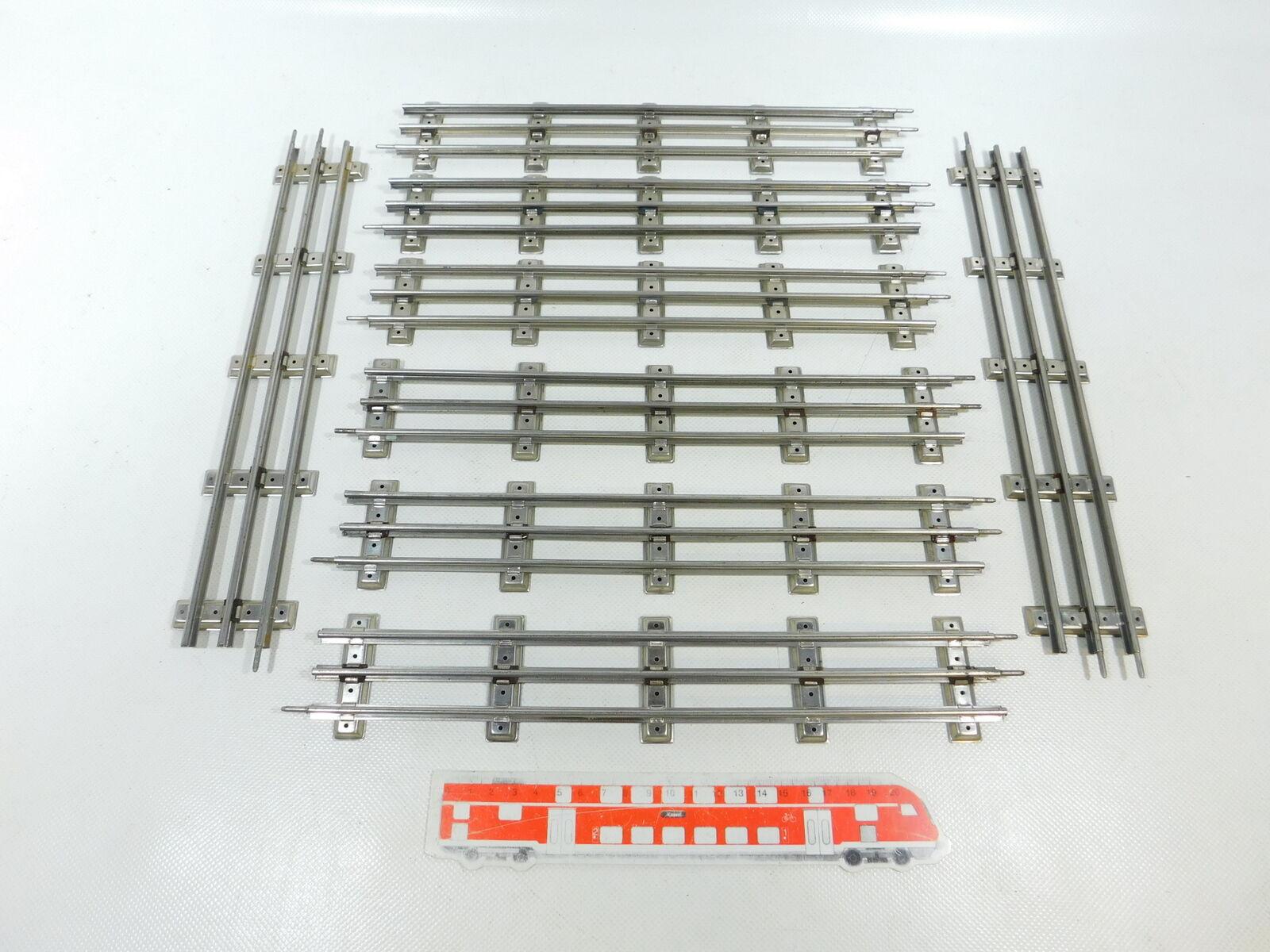 BW158-1 x Ditmar Traccia 0 Binario Dritto (32 cm) per Elettrica Operazione