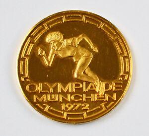 Goldmedaille Olympia Olympiade München 1972 Goldmünze 986 Gold 701