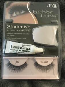 e91d907f926 Image is loading Ardell-Fashion-Lashes-Starter-Kit-105-Black-New-