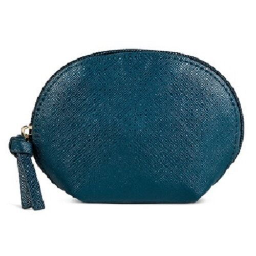 Clutches Merona Lagoon Solid Zip Closure New