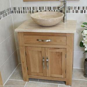 Genial Image Is Loading Bathroom Vanity Unit Oak Modern Cabinet Wash Stand