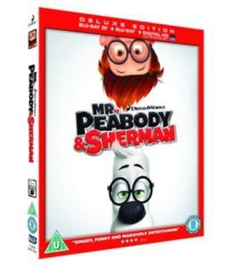 Nuovo Mr Peabody & Sherman 3D+2D Blu-Ray