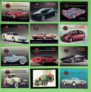 D134-TWENTY-ONE-21-MOTOR-CAR-CARDS-MODERN-amp-VETERAN
