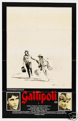 Gallipoli cult movie poster print
