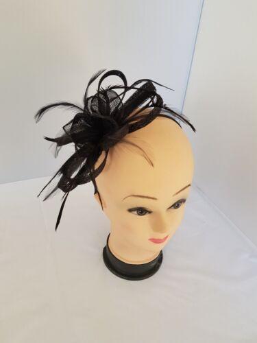Elegant Headband and Clip Fascinator Weddings Ladies Day Race Royal Ascot
