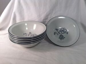 Noritake-Veristone-Bristol-Cereal-SOup-Bowl-Set-of-6-Lovely