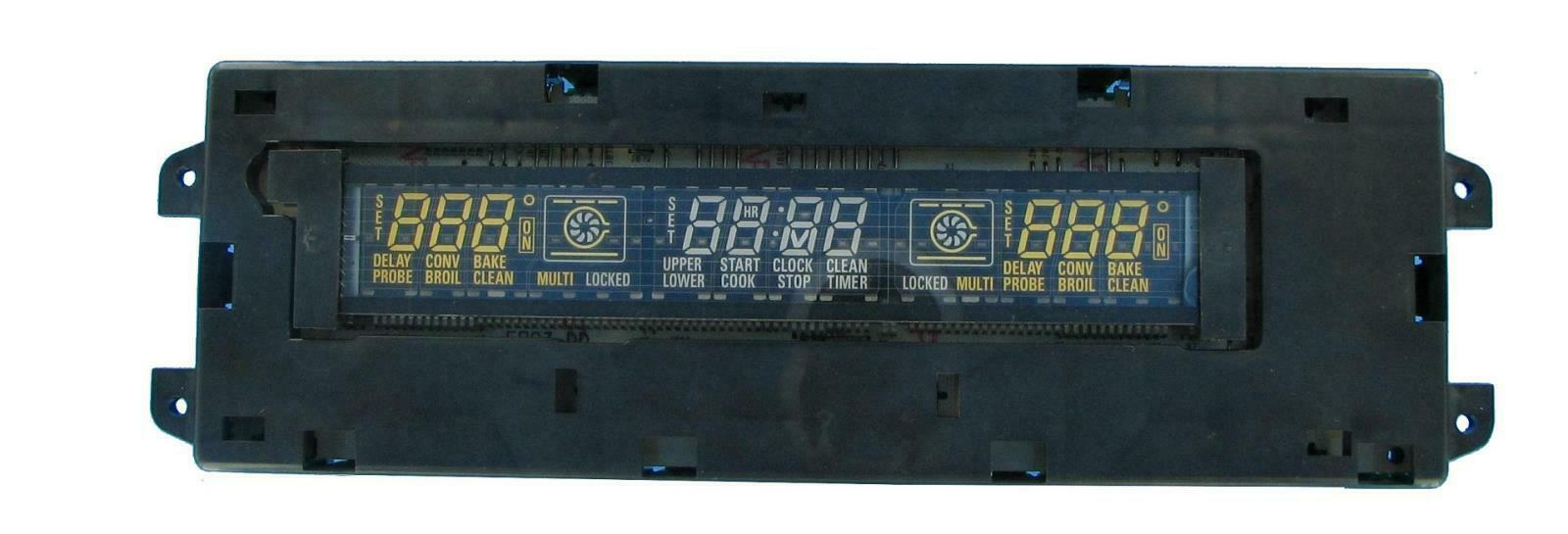 GE Wall Oven Display Control Board WB27T10547