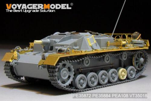 Voyager PE35872 1//35 German StuG.III Ausf.C//D Africa troop Basic Detailing Set