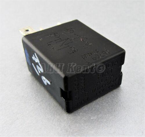 09-17 4-Pin Noir relais 232006 OMRON 1//11296//87 12 V 20 A 726-FIAT ALFA LANCIA