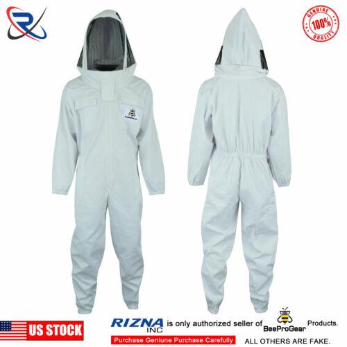 XXL White Beekeeping Suit Beekeeper Suit Jacket Astronaut Veil Full Suit