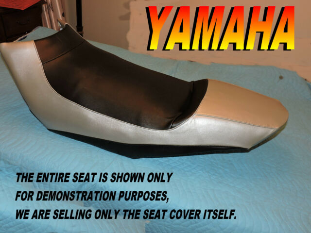 03-05 YAMAHA  BLK//RED  RX-RX1  SNOWMOBILE SEAT COVER *NEW*