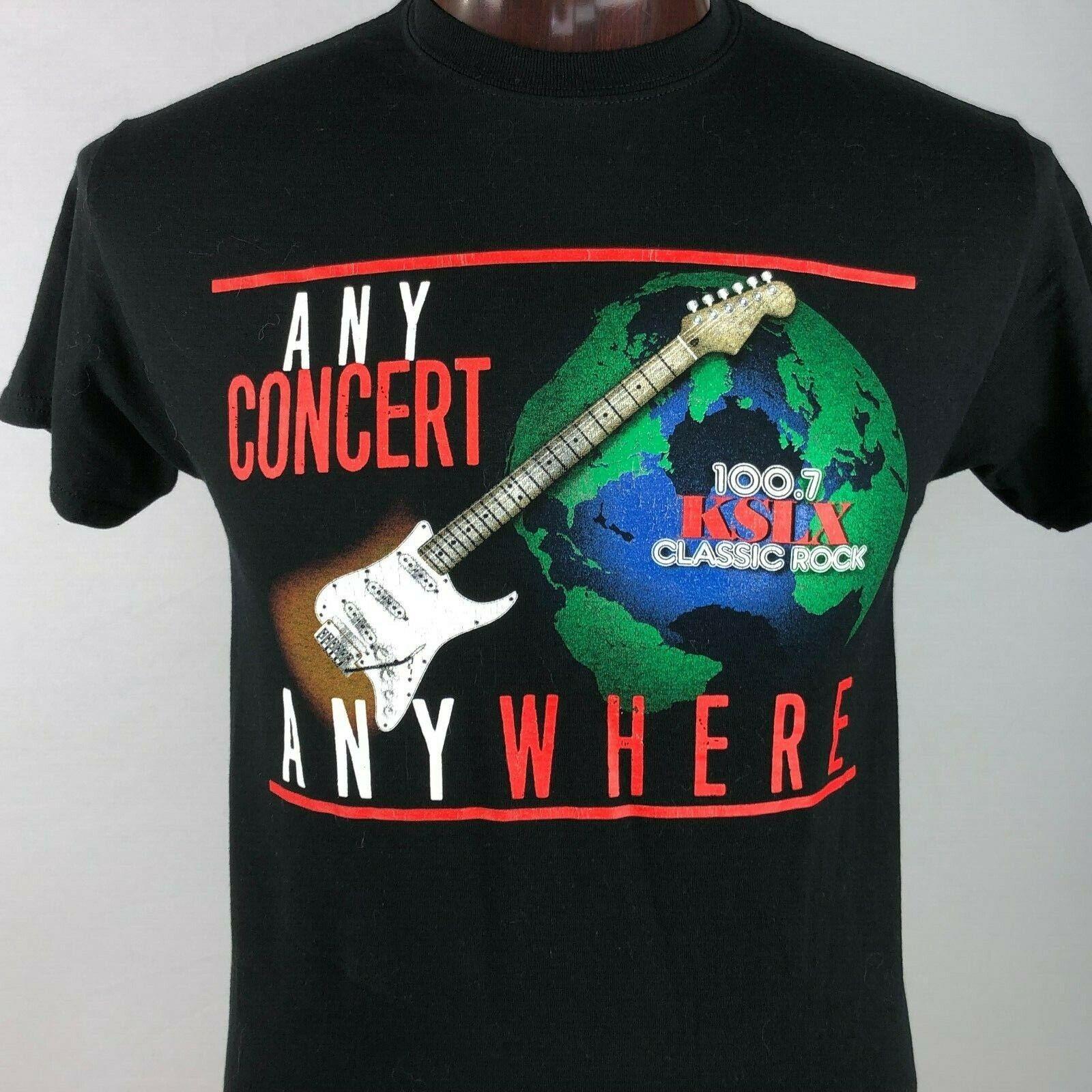 KSLX 100.7 Classic Rock Radio Mens M Graphic T Shirt