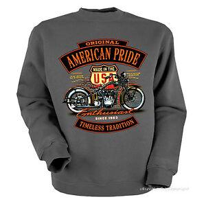 motivo 4260 Vintage Gr Felpa Motorrad harley Biker Oldtimer Maglione tqYvYBz