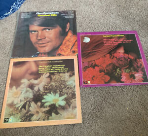 GLEN-CAMPBELL-LP-GREATEST-HITS-FACTORY-SEALED-CAPITOL-SW-752-And-Folk-Lot