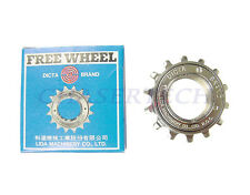 "New Dicta BMX Freestyle Bicycle Bike Freewheel 3/32"" 14T Chrome Plated"