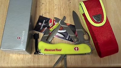 MODEL 54848 VICTORINOX FORESTER RED DD BOXED SWISS ARMY KNIFE