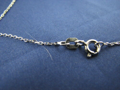 """10 pcs Sterling Silver Fine Rolo Link Chains 1.2mm 18/"""""""