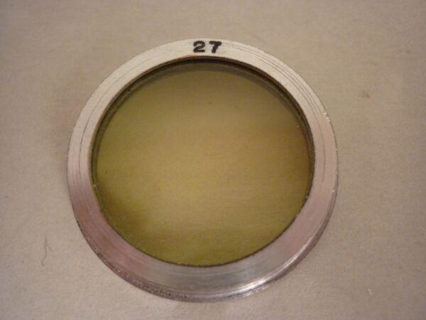 2019 Mode Gelbfilter Zum Stecken, Durchmesser 27mm Exquisite (In) Verarbeitung
