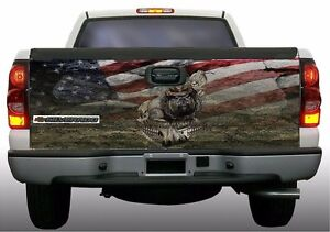 Usmc Marines Devil Dog Camouflage Truck Tailgate Vinyl