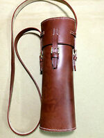 Wwi & Wwii Leather Sniper Scope Case - Brown custom-made
