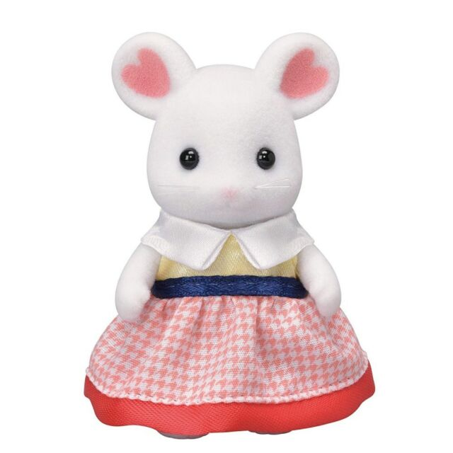 The SYLVANIAN FAMILIES Marshmallow Mouse Families Sister Katherine from Japan