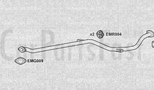 EXHAUST FLEX /& LINK PIPE Ford Sportka 1.6 Petrol Hatchback 05//2003 to 05//2009