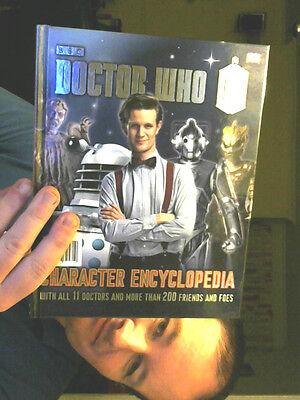 DOCTOR WHO CHARACTER ENCYCLOPEDIA HARDBACK GREAT GIFT!