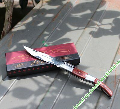 Asta de toro y Acero Inox 01062 Navaja ARABE CARRACA Nº1 Asta Toro.10 cm  Mango