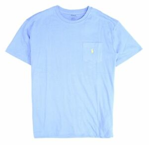 Polo-Ralph-Lauren-Mens-T-Shirt-Blue-Size-Medium-M-Classic-Fit-Crewneck-39-015