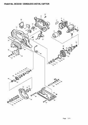 by choosing for Screwdriver Makiita  BRF550Z Parts
