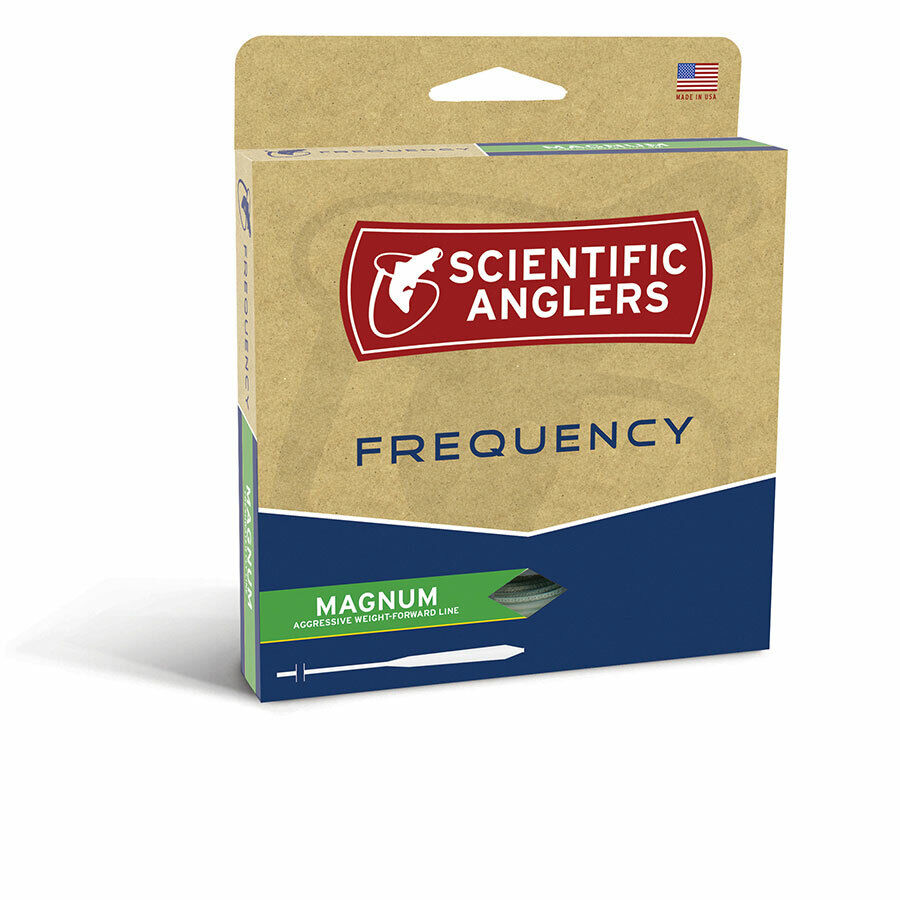 SCIENTIFIC ANGLERS FREQUENCY MAGNUM GLOW FLY pesca LINE