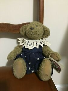 Ganz Cottage Collectibles Jointed Bear Annie By Artist Carol E Kirby Ebay