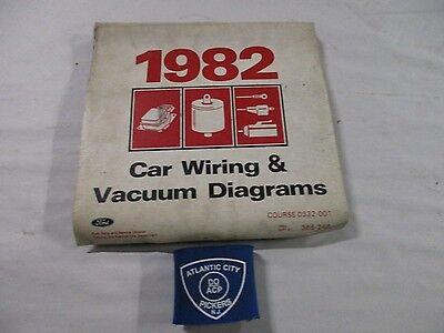 1982 FORD CAR MUSTANG THUNDERBIRD CONTINENTAL VACUUM ...